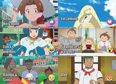 The parents of our heroes of Pokémon the Series: Sun & Moon! Which one(s) are your favorite and why? -Drifblim24 #WorldOfAsh #PokemonGO #Pokemon    Visit us: http://worldofash.com/
