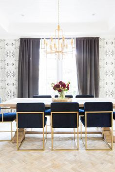 In the dining room, the leading star is the magical chandelier from HD Buttercup.