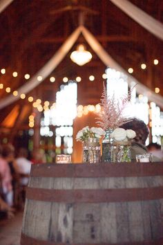 Photography: Carly McCray Photography - www.carlymccrayphotography.comRead More: http://stylemepretty.com/2013/10/04/wisconsin-barn-wedding-from-carly-mccray-photography-cherry-blossom-events/