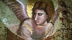 """lLe pietre di Giotto """"Giottini"""" Angelo Annunciatore"""