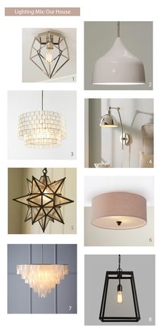 Light Fixtures That Work Together Without Being Boring | Young House Love