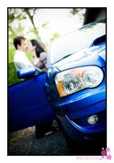 Subaru engagement session