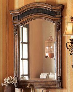 Entryway mirror.