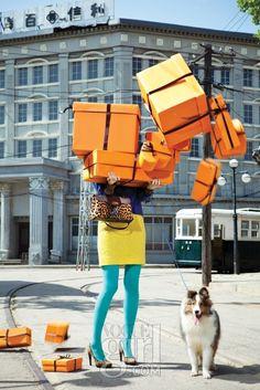 """Oops!"" in Vogue Girl Korea http://www.cartonajessalinas.com/en/blog/brandpackaging-fashion/"