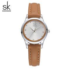 SHENGKE 2018 Top Brand Luxury Wristwatch Diamond Bracelet Women Watches Quartz Watch Female Clock Montre Femme Relogio Feminino