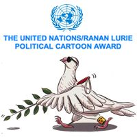 The United Nations Political Cartoon Award. Deadline of November Illustration Competitions, Poster Making, United Nations, Political Cartoons, Awards, November, Politics, Challenges, News