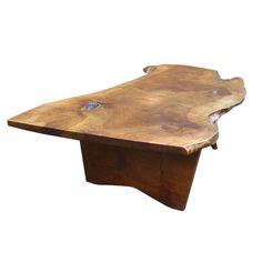 Free Edge Coffee Table By George Nakashima