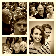 Lovin' All Of These American Horror Story Cast Selfies!