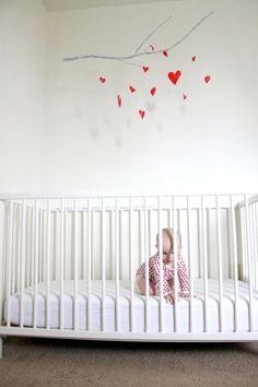 Boughs of Love Baby Mobile DIY by delia creates