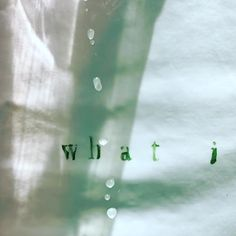 #what. #fabricart #waterandlight #hanging #textinart #joy #questionswithnoanswers #waterdrops #dalitpessach