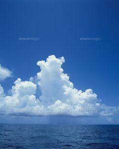 海と入道雲と青空(c)H.Takeuchi ...