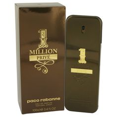 1 Million Prive by Paco Rabanne Eau De Parfum Spray oz for Men: With an exotic woody aroma, 1 Million Prive is designed to lure those around the wearer in with a mix.
