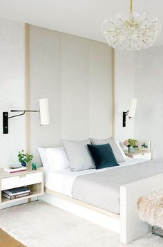 Bedroom Inspiration - pinned by www.youngandmerri.com