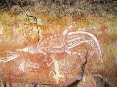 """SHORT VIDEO (2:37) : National Geographic """"Australia and Oceania: Rock Art """""""