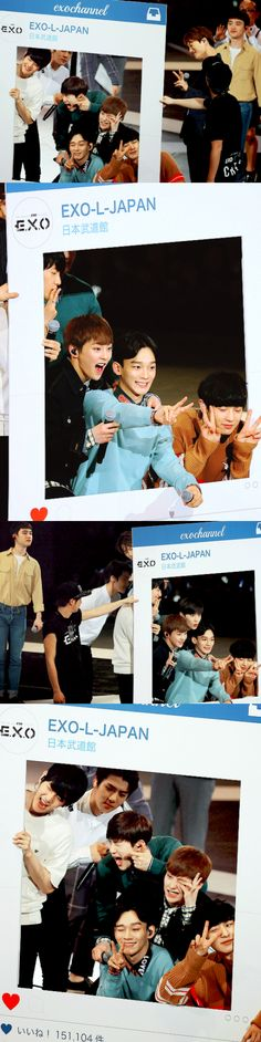 EXO photo time! © I remember when this meet happened and I saw pictures online. They are so flipping cute I can't