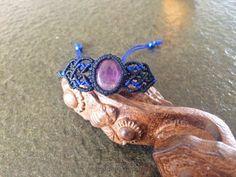 紫晶包石手绳