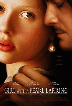 Girl With a Pearl Earring - La joven de la perla (Johannes Vermeer) #Artists_Films