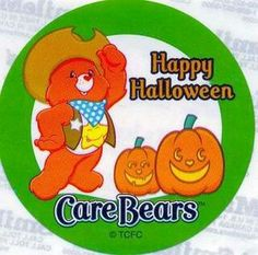 Care Bear's Halloween Bear Halloween, Halloween Cartoons, Happy Halloween, Rainbow Brite, Care Bears, Trick Or Treat, My Childhood, My Little Pony, Old Things