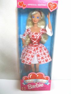 1995 Special Edition Valentine Sweetheart Barbie Doll