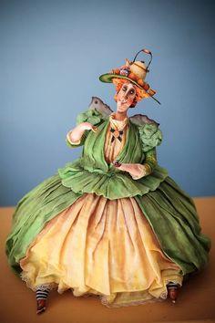 Amazing art doll by Ekaterina Gouseva / Волшебные куклы Кати Fairy-tales (Екатерины Гусевой) - Ярмарка Мастеров - ручная работа, handmade
