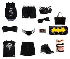 """""""Shiloh Beach Day Outfit"""" by thatanimeefreakk on Polyvore featuring rag & bone/JEAN, Norma Kamali, Agent Provocateur, VANELi, Chanel, Melissa McCarthy Seven7, MICHAEL Michael Kors, Ray-Ban and plus size clothing"""