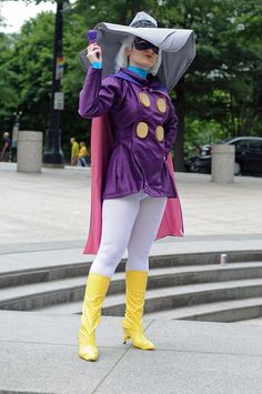 Darkwing Duck #Rule63 #cosplay by Cosplayer Arlette on ACParadise