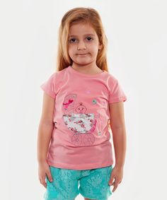Salmon Pram Tee - Infant, Toddler & Girls #zulily #zulilyfinds