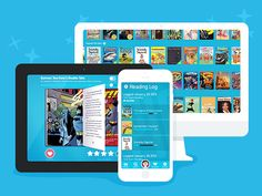 Access thousands of books from your computer, tablet or phone with the Epic! app.