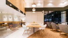 Thai practice Fatt! Studio has recently converted a pair of row house in Bangkok into a minimalistic café.