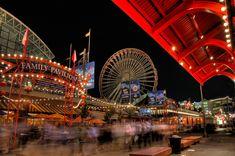Navy Pier de los lugares turísticos de USA más divertidos, conoce otros en http://mipagina.1001consejos.com/profiles/blogs/top-12-mejores-lugares-tur-sticos-de-estados-unidos