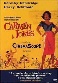 Carmen Jones, 1955 Golden Globe Awards Best In Show winner, Carmen Jones #GoldenGlobes #GoodMovies #Movies