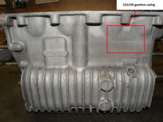 MK1 Austin Cooper S 1071cc 22G190 Gearbox Casing