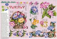 """ru / tymannost - Альбом """"Encyclopedie du point de croix ( Fleurs arbres et feuilles )"""" Le Point, Napkins, Cross Stitch, Floral, Russia, Gallery, Punto Croce, Dots, Needlepoint"""