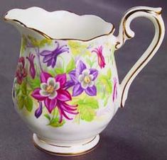 Royal Albert - Columbine  1930s to 1950s