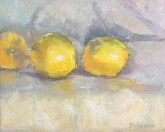 Susan Williams' Studio: Three Little Lemons