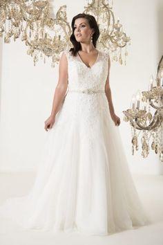 Styles | Callista Plus Size Wedding Dresses