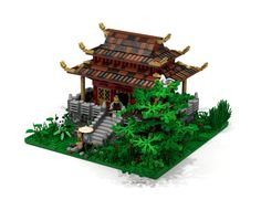 Travel back in time to ancient China with this highly detailed model of a temple. Seeing as Lego has already produced many highly detailed modern and medieval european buildin...