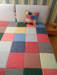 patchwork deka 140x200 alebo 220x220 kolor mix