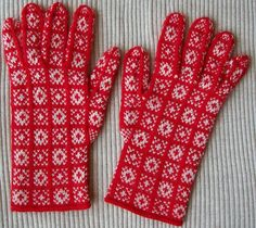 Sanquhar Red&White Finished by kik922, via Flickr