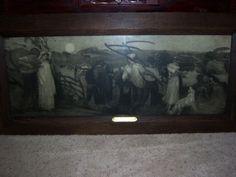 HARVEST MOON ETCHING Robert Walker Macbeth  in Art, Art from Dealers & Resellers, Drawings | eBay