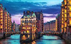 Hamburg, Germany 10 Beautiful cities around the world
