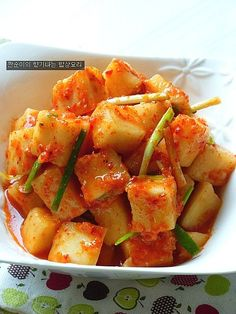 [깍두기] 아삭아삭 시원하고 개운한 깍두기 맛있게 담그기 – 레시피 | 다음 요리 Asian Recipes, Keto Recipes, Cooking Recipes, Ethnic Recipes, K Food, Food Menu, Korean Food, Cooking Classes, Kimchi