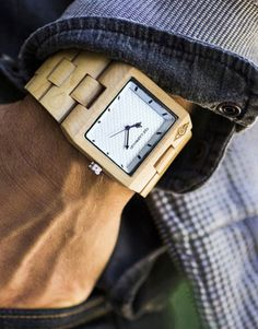 Dapper Up Your Wrist with a Wooden Watch Sharp Dressed Man, Well Dressed Men, Tissot Mens Watch, Wooden Watches For Men, Classic Man, Gentleman Style, My Guy, Men Looks, Wood Watch