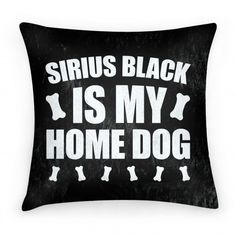 One day I will be the proud pawparent of a beautiful Irish wolf hound named Sirius and I will also have this pillow Harry Potter Pillow, Harry Potter Room, Hogwarts Christmas, Quirky Decor, Studio Organization, Dog Cushions, Cute Pillows, Sirius Black, Nerdy