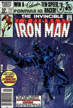 Iron Man #152 - Escape From Heaven's Hand!