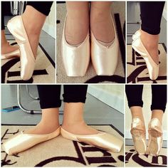 First pointe shoes - first pointe shoe fitting Grishko 2007 pointe shoes. Aren't they beautiful? So supportive and elegant.