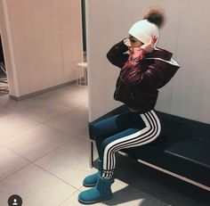 Swag on repeat Chill Outfits, Casual Outfits, Cute Outfits, Fashion Outfits, Womens Fashion, Fall Winter Outfits, Autumn Winter Fashion, Winter Fits, College Outfits