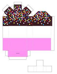 Utilize os moldes de sorvetes de papel em 3D para imprimir de nossa matéria para decorar os mais diversos locais, mas sempre com ótimos ...