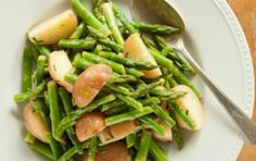 Red Potato and Asparagus Salad- (Not sure if this really constitutes as a salad, but it looks delicious!)