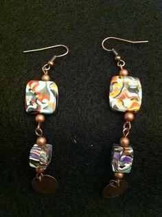 Manushu line earrings. SOLD